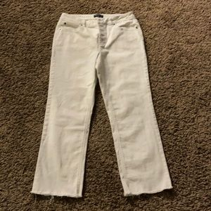 Kenneth Cole cropped jeans